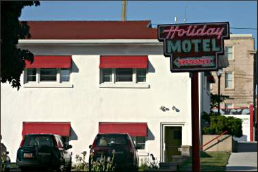 Holiday Music Motel in Sturgeon Bay.