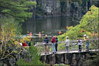 Interstate State Park in Taylors Falls.
