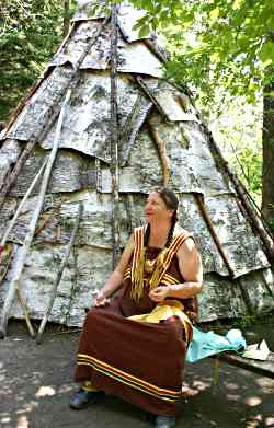 An Ojibwe interpreter at Fort William.