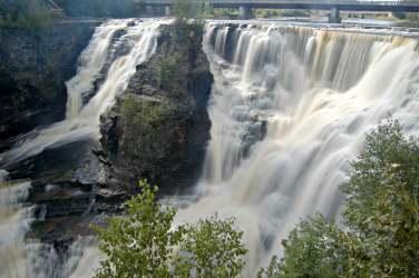 Kakabeka Falls near Thunder Bay.
