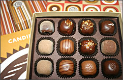 Candinas chocolates in Madison.