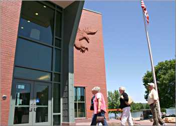 The National Eagle Center in Wabasha.