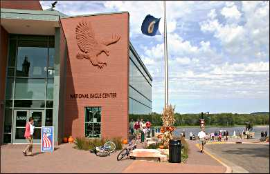 Wabasha's National Eagle Center.