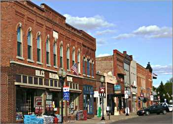 Main Street in Wabasha.