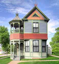 The Wanda Gag House in New Ulm.