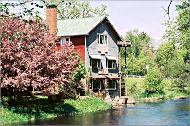 A grist mill on the Crystal River.