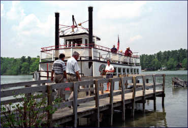 Chief Waupaca paddlewheeler.