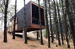 Camper cabins in Dakota County.