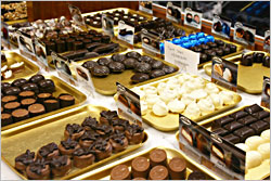 Mr. B's Chocolatier in Willmar.