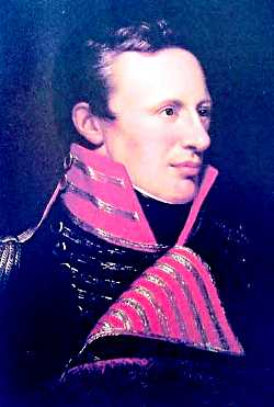 Portrait of Zebulon Pike